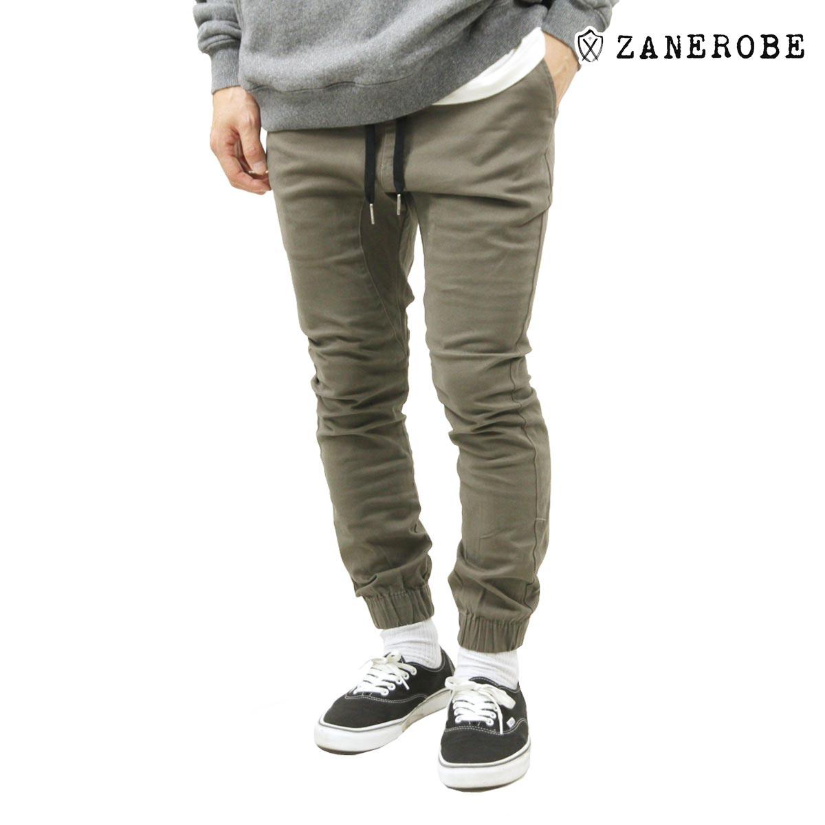 ゼンローブ ZANEROBE 正規販売店 メンズ チノ ジョガーパンツ SURESHOT CHINO JOGGER PANTS PEAT 710-PRE