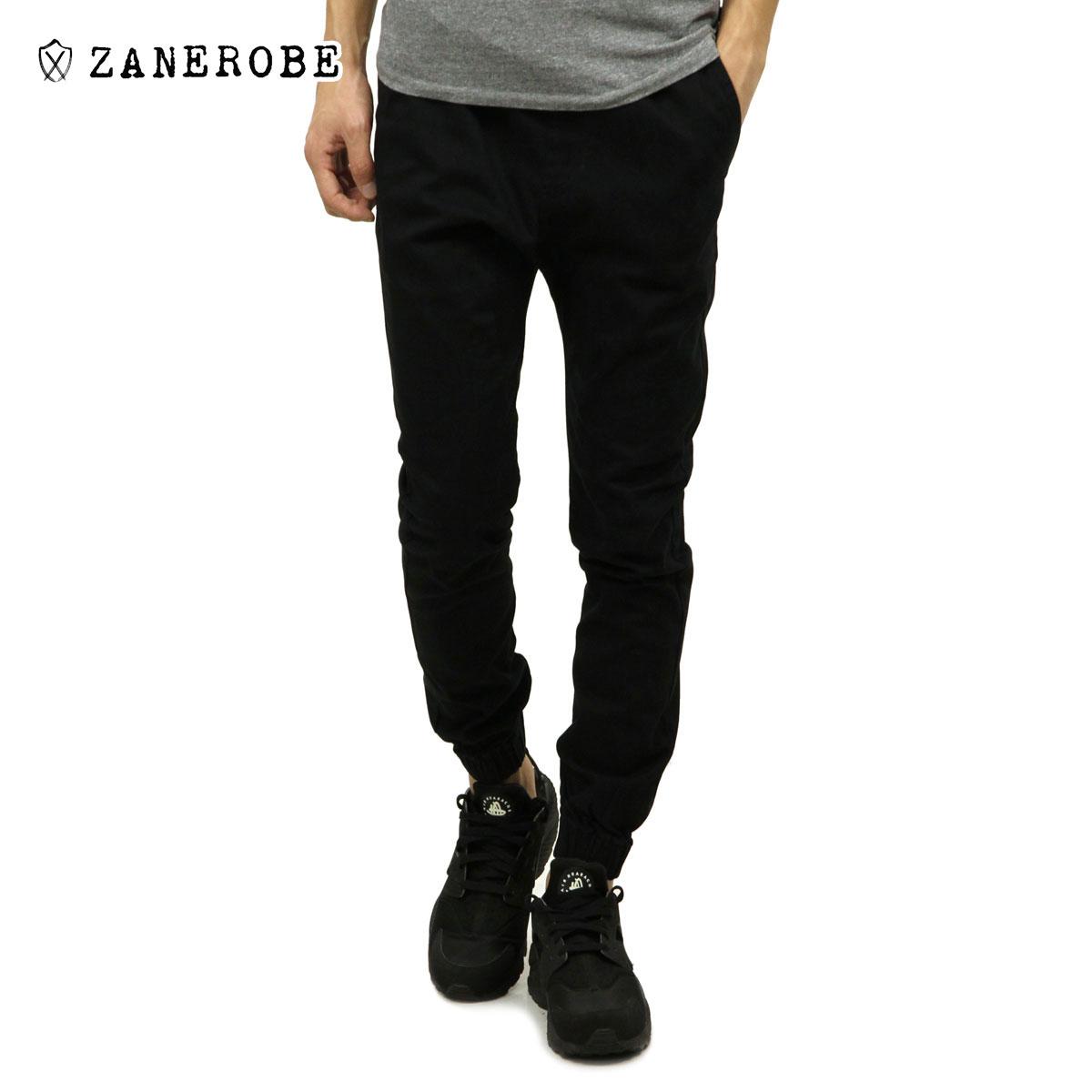 ゼンローブ ZANEROBE 正規販売店 メンズ チノ ジョガーパンツ SURESHOT CHINO JOGGER PANTS BLACK 760-MTG