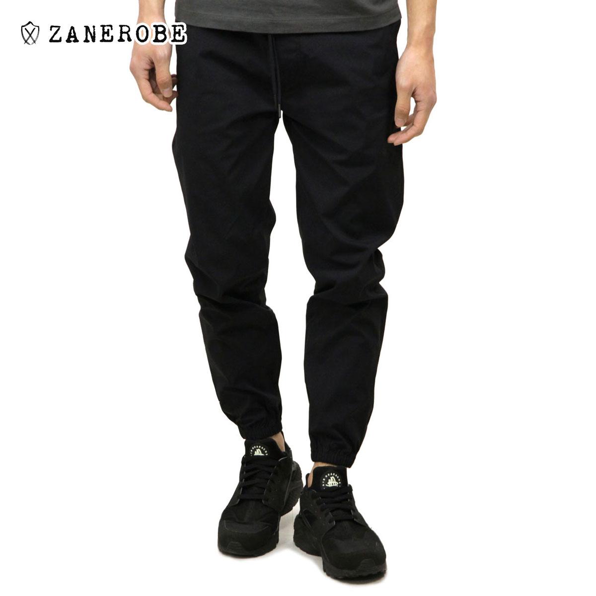 ゼンローブ ZANEROBE 正規販売店 メンズ チノパン JUMPSHOT JOGGER PANTS BLACK 700-PRE
