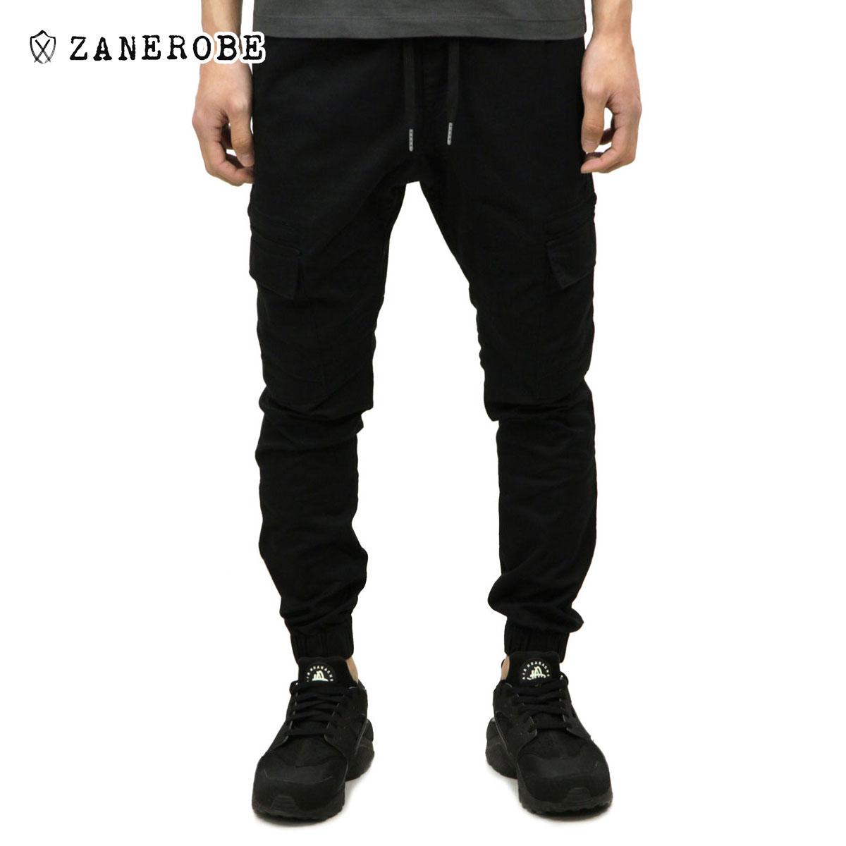 ゼンローブ ZANEROBE 正規販売店 メンズ カーゴパンツ SURESHOT CARGO JOGGER PANTS BLACK 700-WANI