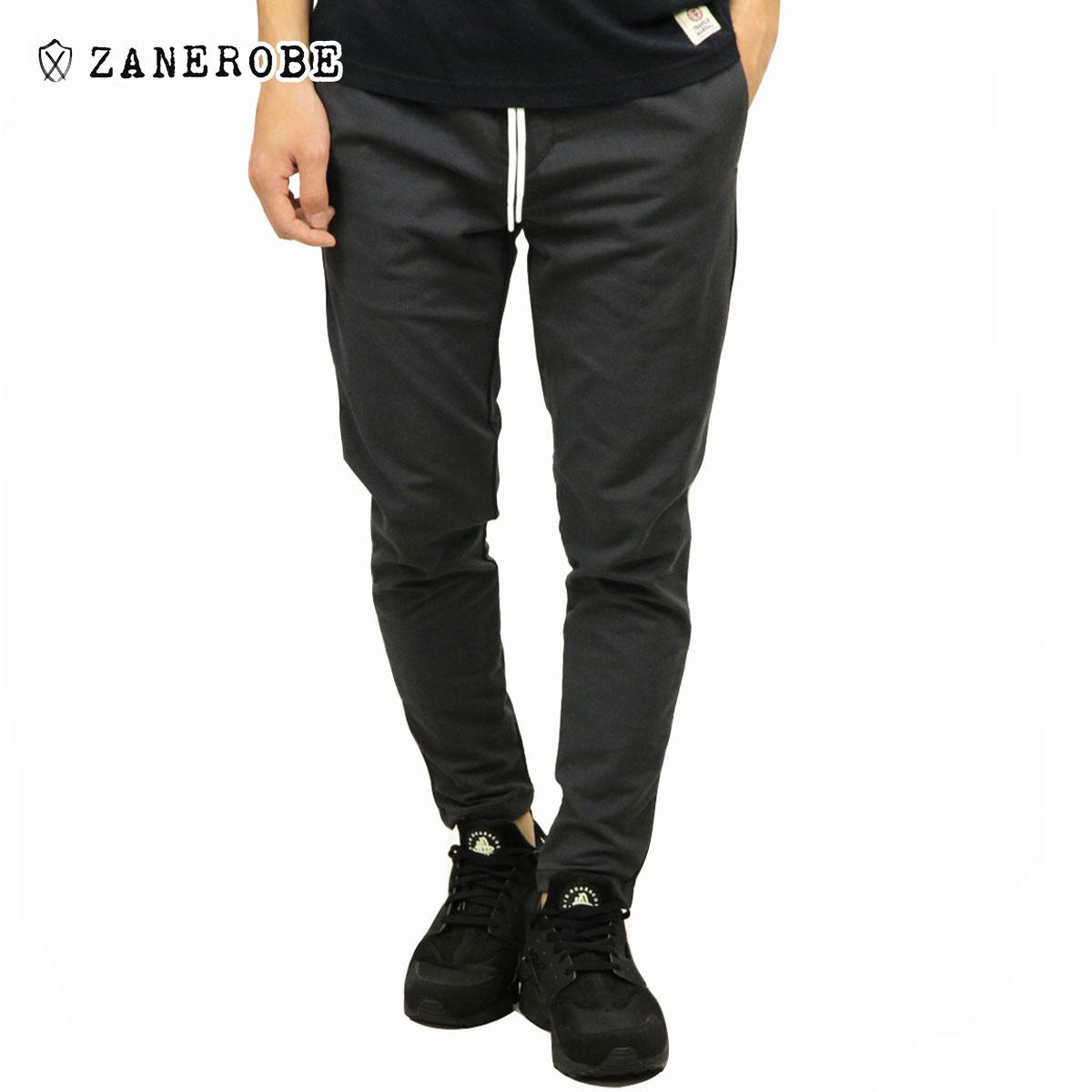 ゼンローブ ZANEROBE 正規販売店 メンズ トラックパンツ JUMPSHOT TRACK PANTS VINTAGE BLACK 700-MET
