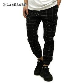 【ポイント10倍 12/4 20:00〜12/11 01:59まで】 ゼンローブ ZANEROBE 正規販売店 メンズ チノ ジョガーパンツ GRIDLINE SURESHOT PIPELINE CHINO JOGGER PANTS BLACK/WHITE 718-VER