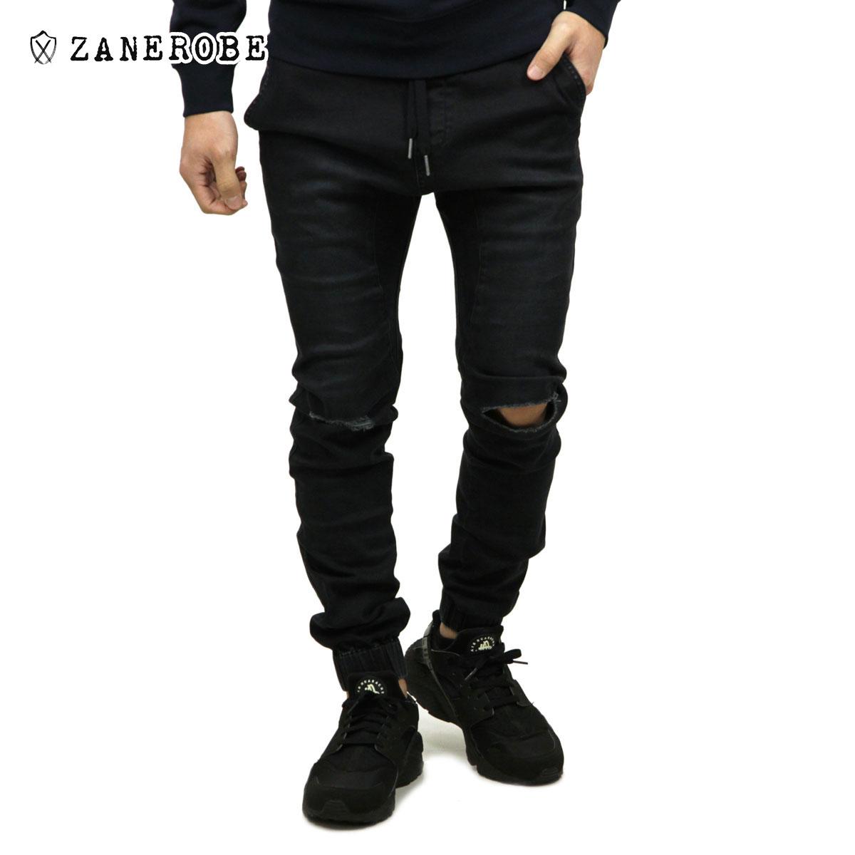 ゼンローブ ZANEROBE 正規販売店 メンズ デニム ジョガーパンツ SURESHOT DENIM JOGGER PANTS SMOKEY BLACK 724-MAK
