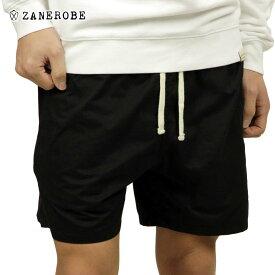 ゼンローブ ZANEROBE 正規販売店 メンズ チノ ショートパンツ ZEPHYR CHINO SHORT PANTS BLACK 601-FT