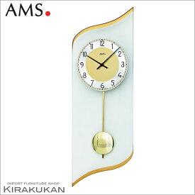 【クーポン配布中】輸入時計【AMS(アームス社ドイツ製).クォーツ・壁掛け時計 AMS-7437】 【送料無料】 おしゃれ ドイツ製 時計 掛け時計 置時計 クラシック 時計 モダン 時計 ヨーロッパ時計 ヘルムレ アンティーク時計
