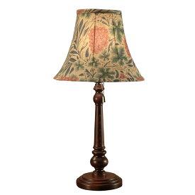 【クーポン配布中】 ウィリアムモリス 【テーブルランプ】『ヴァイン』Vine(ぶどうの木)【送料無料】照明器具 アンティーク家具 おしゃれランプ 輸入 照明 鈴木家具