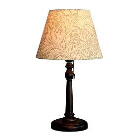 【クーポン配布中】 ウィリアムモリス 【テーブルランプ】『マリーゴールド・ベージュ』Marigold-B【送料無料】照明器具 アンティーク家具 おしゃれランプ 輸入 照明 鈴木家具