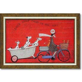 【クーポン配布中】サム トフト「ドンド ディリダリー」Gel加工【送料無料】絵画 インテリア 額入り おしゃれ 額絵 フレーム サムトフト アートフレーム アンティーク 絵画 壁掛け アンティーク調 風景 ヨーロピアン インポート 玄関 リビング