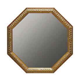 【スーパーセール限定品】 アンティーク 八角ミラー ゴールド LLサイズ Mirror(壁掛け鏡) 輸入雑貨 インテリア雑貨 おしゃれ イタリア フレンチ アンティーク雑貨 アンティーク風 ヨーロッパ雑貨 ヨーロピアン インポート