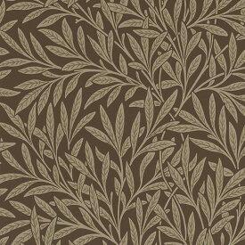 【クーポン配布中】ウィリアムモリス 壁紙【ウイロー Willow】おしゃれ 壁紙 ウォールペーパー クロス 輸入壁紙 イギリス製 アンティーク 壁紙 植物 ボタニカル インテリア 本物 Morris【m-w-210380】