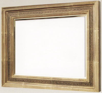 【送料無料】油絵用額縁 F6号キャンバス用珠回廊 金(同志舎) 木製