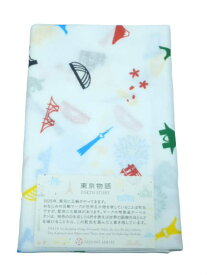 メール便対応 日本製 ガーゼ 手拭い 手拭 マスク 二重 袷 綿 100% No.52