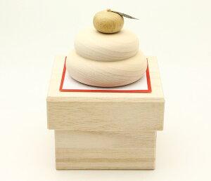 正月飾り 鏡餅 木製 木の鏡餅 ミニ 正月 餅