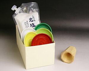 風水盛り塩セット(固め器:円錐)