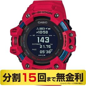 【店内ポイント最大42倍 25日10:00から】カシオ G-SHOCK G-SQUAD ジー・スクワッド 腕時計 メンズ 心拍計 GPS レッド GBD-H1000-4JR(15回無金利)