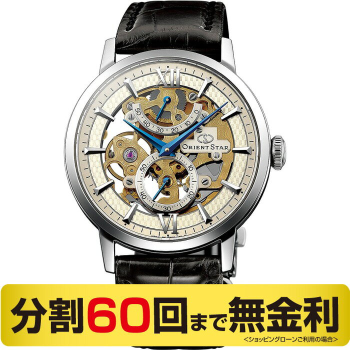 オリエントスター ORIENT STAR スケルトン WZ0041DX メンズ 手巻 腕時計 (60回無金利)