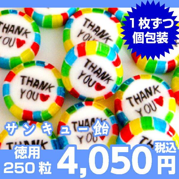サンキュー飴(仕込み飴りんご風味)メガ盛り250粒入