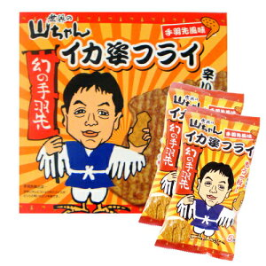 【名古屋お土産】世界の山ちゃんイカ姿フライ 手羽先風味 (5枚×2袋)