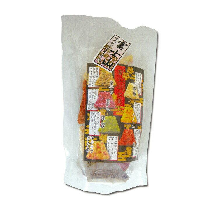 【静岡土産】富士山せんべい 21枚(静岡 富士山 世界遺産 お土産 みやげ 手土産 せんべい 日本 ふじ Fuji 和菓子)