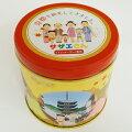 【京都】サザエさん京都を観光してきました。プチクッキー(チョコ風味)20枚缶入り(サザエさんクッキーチョコ京都関西観光お土産みやげ手土産)