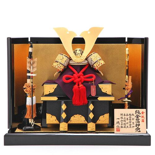 10号 一徳 純金箔 宝永屏風飾
