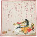 ★日本みやげ 和風ハンカチ 紫式部物語 花宴 日本製【メール便可】