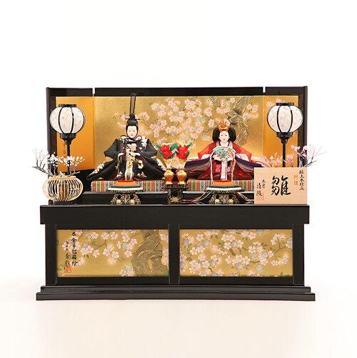 三五  鳳凰花 寿楽桜華収納飾