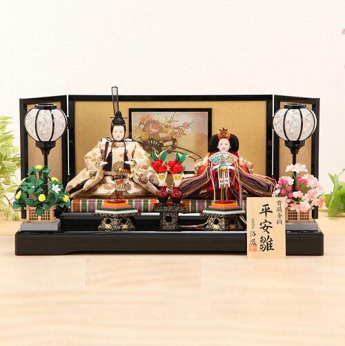 三五 丸花唐草 彫金屏風飾