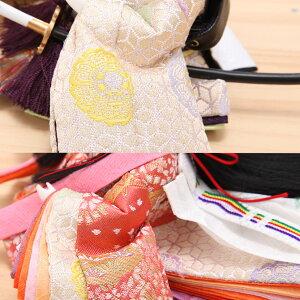 豆丸紋桜市松屏風親王飾13
