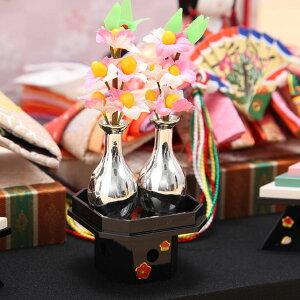 豆丸紋桜市松屏風親王飾15