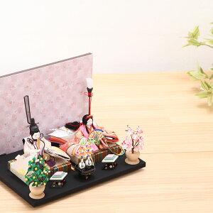 豆丸紋桜市松屏風親王飾18