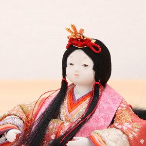 豆丸紋桜市松屏風親王飾4