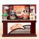 雛人形 コンパクト 収納飾り 60号 ワイン格子収納台 舞花親王飾 ひな人形