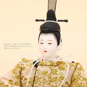 ひな人形芥子清水久遊作唐織親王飾