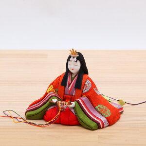 木目込みひな人形真多呂彩鳳雛黄呂染親王飾