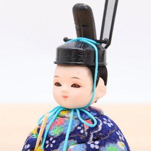 新井久夫ひなゆめふく青親王飾3