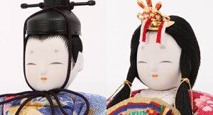 雛人形木目込み雛一秀作ひな人形丸窓十五人飾り雛豪華お道具セット付_02