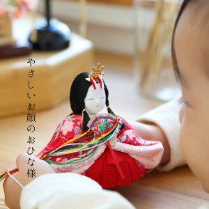 雛人形木目込み雛一秀作ひな人形丸窓十五人飾り雛豪華お道具セット付_04