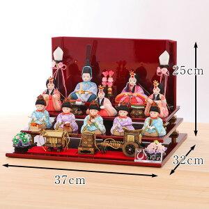 新井久夫ひなまり三の宮十人飾