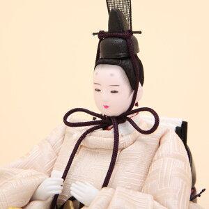 雛人形ひな人形柳柴田家千代作サクラ算崩地紋刺繍桜ちらし親王飾
