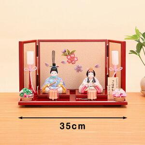 折原粋玉(おりはらすいぎょく)作こまちチリメン花舞桜屏風飾