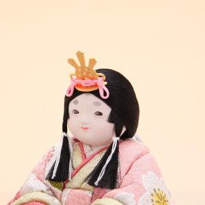 折原粋玉(おりはらすいぎょく)作こまちチリメン花舞桜屏風飾4