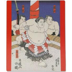 日本みやげ 和風マウスパッド 相撲 土俵入 日本製【メール便可】