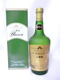 【八重泉酒造所】八重泉グリーンボトル 樽貯蔵 43度 720ml