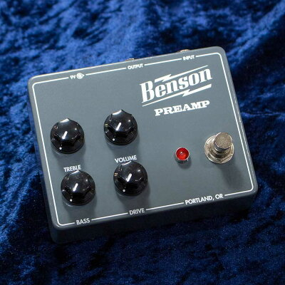 BensonAmps/PREAMPPEDALS【在庫あり】