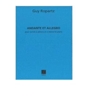 【トランペット楽譜】 アンダンテとアレグロ/Andante et Allegro (1899)