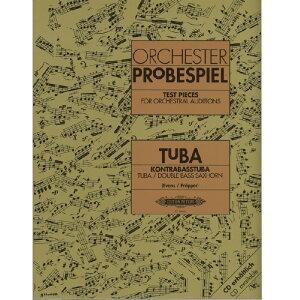 【チューバ教本】 オーケストラ・オーディション課題集(ドイツ・オーケストラ協会指定)/Orchester Probespiel Tuba/Kontrabasstuba