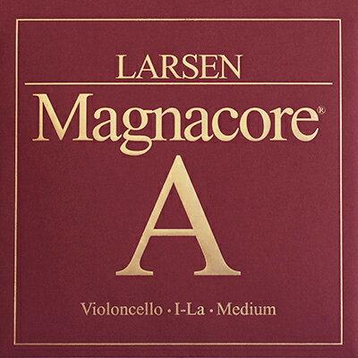 【メール便送料無料】チェロ弦 LARSEN Magnacore(ラーセン マグナコア)A【店頭受取対応商品】