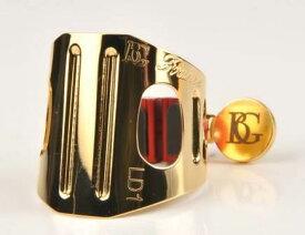 BG ビージー アルトサックス&B♭クラリネット リガチャー デュオ LD1 ゴールドプレート 金メッキ GP