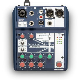 SOUNDCRAFT/Notepad-5【在宅おすすめアイテム】